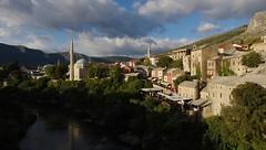 Late afternoon sunlight (sfryers) Tags: old town historic city sunlight mosque minaret islamic architecture mountains kujundžiluk bosnia herzegovina bosnaihercegovina smc pentaxda 15mm 14 limited