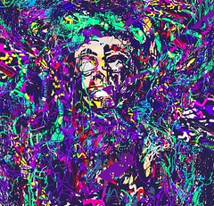 2019-06-15_10-37-47 (Ivan Sannikov) Tags: abstract acrylic aged art artistic artwork background blaze brush color colorful contemporary creative dark decorative design digital distress drawn expressionism face fire flame fun green grunge happy head holiday hot illustration light modern multicolor painter painting picture risk sannikov shabby sketch smile texture textured violet wall watercolor white woman