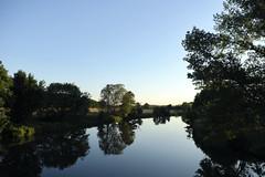 The River Flows, It Flows To The Sea 1 (RadarO´Reilly) Tags: ruhr flus river balladofeasyrider spiegelungen reflections landschaft landscape nrw