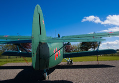 HA-MKE An-2 , Kinloss (wwshack) Tags: aircraftmuseum an2 antonov kinloss moray morayvia scotland 14 hamke