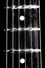 Music in b&w (phileveratt) Tags: smileonsaturday musicinbw guitar blackwhite monochrome