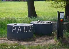 Pauze...... (♥ Annieta ) Tags: annieta 2019 sonya6000 nederland netherlands allrightsreserved usingthispicturewithoutpermissionisillegal pauze mei fietsen rustplaats aalten achterhoek