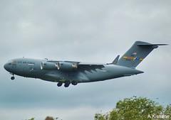US AIR FORCE C17 99-0169 (Adrian.Kissane) Tags: landing ireland aviation globemaster usairforce aeroplane aircraft outdoors tree sky jet plane shannonairport 3052019 990169 shannon c17 usaf
