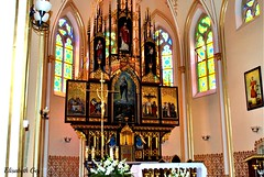 The Church of the assumption of St. Mary's Church in Wodzisław śląski -028 (Elisabeth Gaj) Tags: elisabethgaj poland polska polen wodzislaw travel architecture building church interior