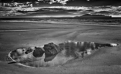 A Good Day For It #2 (Rolf Siggaard) Tags: ~photography ~orientation landscape ~typeofphotography landscapephotography 23mm autumn blackwhite captureone clouds coast coastline environmental fujifilm fujix100s mangawhai nature newzealand outdoors sand seascape sea travelling water x100s