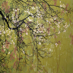 hanami (JoStephenX) Tags: wood tree branches fairytale winter faerie pagan wild gold silver woodland forest nature