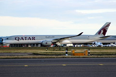 A7-ANI A350 241 LHR 14-Jun-19 (K West1) Tags: a7ani a350 241 lhr 14jun19