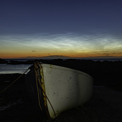 Noctilucent Cloud (Les Armishaw) Tags: noctilucent cloud sutherland scotland coast night blue silver atlantic canon ngc greatphotographers