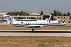 Hellenic Air Force Embraer ERJ-135LR '145-209' LMML - 14.06.2019 (Chris_Camille) Tags: spottinglog registration planespotting spotting maltairport airplane aircraft plane sky fly takeoff airport lmml mla aviationgeek avgeek aviation canon5d canon livery myphoto myphotography