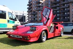 Lamborghini Countach LP 5000 S Replica Q963VMR (Andrew 2.8i) Tags: classics meet show cars car classic weston westonsupermare sports sportscar super supercar v8 replica kit kitcar lp5000 lp5000s s 5000 lp countach lamborghini