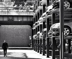 Autimidation (canonsnapper) Tags: street newyork parking carpark olympusomdem5markll car streetphotography