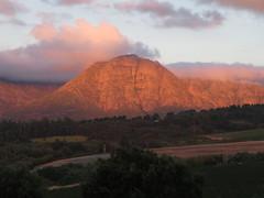 Guardian Peak Sunset (Toni Kaarttinen) Tags: southafrica africa cape capetown travel travelling holiday wanderlust westerncape wine winelands stellenbosch mountain mountains sunset guardianpeak winehouse