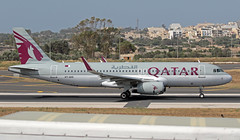 A7-AHX LMML 14-06-2019 Qatar Airways Airbus A320-232 CN 5361 (Burmarrad (Mark) Camenzuli Thank you for the 18.9) Tags: a7ahx lmml 14062019 qatar airways airbus a320232 cn 5361