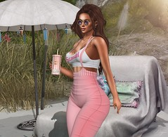 Im a Scandal (Bryan Trend) Tags: head genus project classic body maitreya hair runaway plastik glasses sunglasses promagic gacha set tumbler scandalize top jumpsuit belleza freya isis slink hourglass tmp legacy belle event female woman model blog blogger sl secondlife second life new post