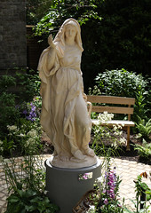 Do whatever He tells you (Lawrence OP) Tags: ourladyofcana codyswanson statue sculpture mary blessedvirginmary ourlady rosaryshrine london stdominics dominican stjohnpaulii mysteriesoflight luminous rosary