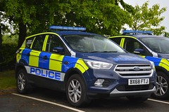 BX68 FTJ (S11 AUN) Tags: ford car rural panda 4x4 leicestershire police vehicle irv emergency incident commander response kuga 999 bx68ftj