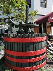 Stellenbosch   Wine Presser (Toni Kaarttinen) Tags: southafrica africa cape capetown travel travelling holiday wanderlust westerncape wine winelands stellenbosch presser