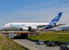 F-WWOW Airbus A380 (@Eurospot) Tags: fwwow airbus a380 lfbo toulouse blagnac