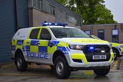 BX19 JVA (S11 AUN) Tags: leicestershire police ford ranger pickup truck rural panda car incident response vehicle irv 999 emergency bx19jva
