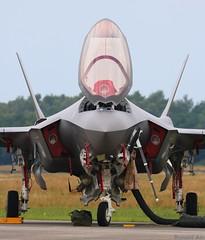 RNLAF F-008 'Front' (Ronald Air) Tags: rnlaf dutch f35 lighting fighter jet volkel luchtmachtdagen