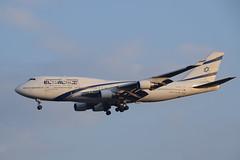 El Al B744, 4X-ELB, TLV (LLBG Spotter) Tags: elal aircraft tlv b747 airline 4xelb llbg