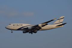 El Al B744, 4X-ELA, TLV (LLBG Spotter) Tags: elal 4xela tlv aircraft b747 airline llbg