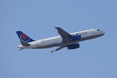 Onur Air A320, TC-OBU, TLV (LLBG Spotter) Tags: tcobu aircraft tlv a320 onurair airline llbg