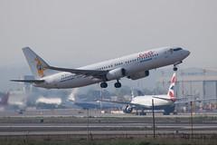 Sundor B738, OM-JEX, TLV (LLBG Spotter) Tags: aircraft b737 tlv airline sundor omjex llbg