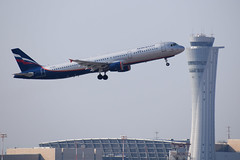 Aeroflot A321, VQ-BEA, TLV (LLBG Spotter) Tags: vqbea a321 tlv aircraft airline aeroflot llbg