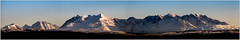 Cuillins Panorama, Isle of Skye (muddybootsuk) Tags: yellow skye isleofskye scotland mountains snow ice blueskies greatbritain unitedkingdom innerhebrides nikon d850 winter landscapes sun sunset