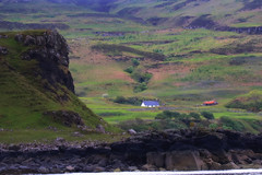 Mull 1S9A3096 (saundersfay) Tags: mull scotland mountains green house isolated