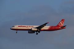 AtlasGlobal A321, TC-AGG, TLV (LLBG Spotter) Tags: aircraft atlasglobal tlv a321 tcagg airline llbg