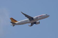 Pegasus A20N, TC-NBF, TLV (LLBG Spotter) Tags: pegasus tlv airline tcnbf llbg
