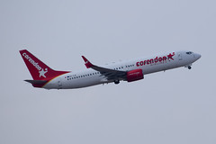 Corendon Airlines B738, 9H-TJC, TLV (LLBG Spotter) Tags: aircraft b737 tlv airline corendonairlines 9htjc llbg