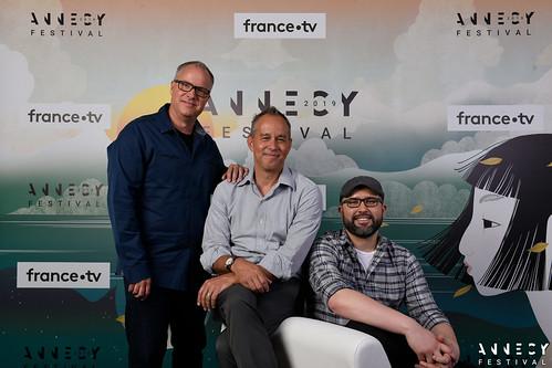 """Séance événement/Screening event """"Toy Story 4"""" – Mark Nielsen, Jonas Rivera, Josh Cooley"""