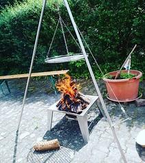 Feuer brennt. #Schwenker #Saarland, #Kult #Tradition (alexebel) Tags: instagram iphone4