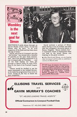 Liverpool vs Southampton - 1981 - Page 20 (The Sky Strikers) Tags: liverpool southampton football league division one anfield review 30p