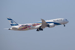 El Al Israel Airlines (San Francisco / Las Vegas) B789, 4X-EDD, TLV-LAS (LLBG Spotter) Tags: elal b787 4xedd tlv airline special aircraft llbg