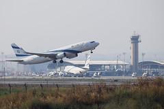 El Al B738, 4X-EKJ, TLV (LLBG Spotter) Tags: elal aircraft tlv 4xekj airline b737 llbg