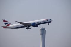 British Airways B772, G-VIIS, TLV (LLBG Spotter) Tags: b777 aircraft tlv airline gviis britishairways llbg