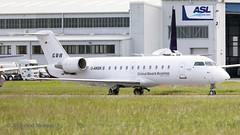 DANSK CRJ Global Reach Aviation (Anhedral) Tags: