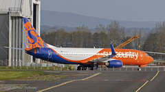 N834SY 737 Sun Country (Anhedral) Tags: