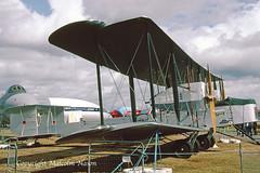 VICKERS VIMY replica NX71MY (shanairpic) Tags: propliner vickersvimy farnborough historicaircraft nx71my