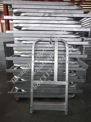 Galvanized Suspended Platform Parts. Contact us: whatsapp +8613176274341  #galvanized #suspendedplatform #steel #scaffolding #andamios (1678085711) Tags: steel scaffolding andamios suspendedplatform galvanized