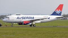 OEIAN A319 Air Serbia (Anhedral) Tags: oeian yuapk airbus a319 einn snn shannonairport
