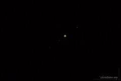 Jupiter et 3 de ses satellites (christian.rey) Tags: jupiter satellites lunes astrophotographie astronomie sony alpha a7r2 a7rii sigma mc11 150600