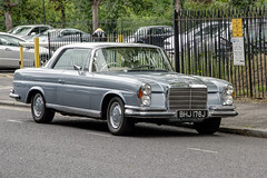 1970 Mercedes-Benz 280 SE (marktandy) Tags: mercedesbenz mercedes 280 1970 silver london car vintage classic bhj176j june 2019