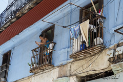 Hung Out To Dry_MG_3903 (Alfred J. Lockwood Photography) Tags: noon cubans cuba havana spring portrait streetphotography travel alfredjlockwood streetportrait travelphotography laundry building