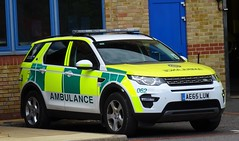 East Of England Ambulance - AE65 LUW (999 Response) Tags: eastofenglandambulance ae65luw east of england ambulance 062 nhs land rover discovery sport landrover
