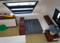 Cherry Loft House MOC. Sleeping loft bed. (betweenbrickwalls) Tags: lego afol moc bed furniture furnituredesign